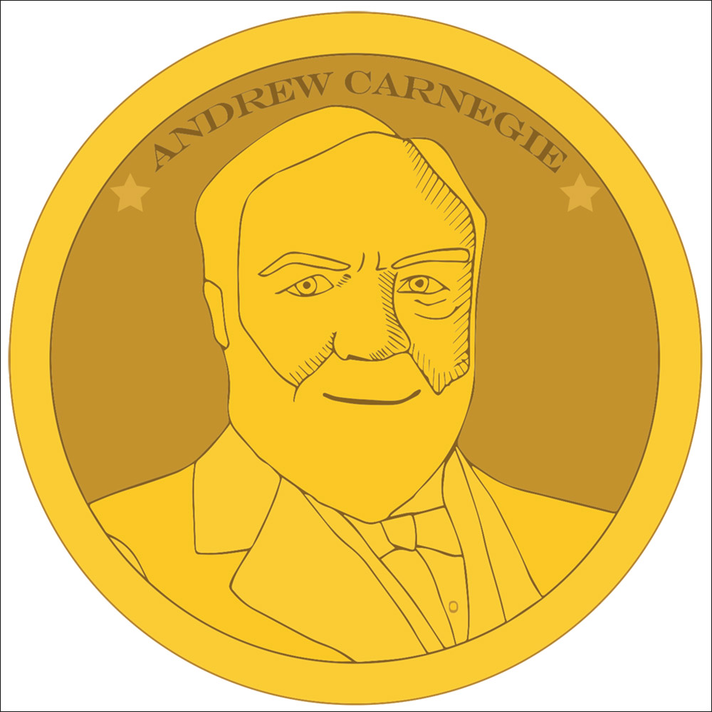 carnegie coin illustration