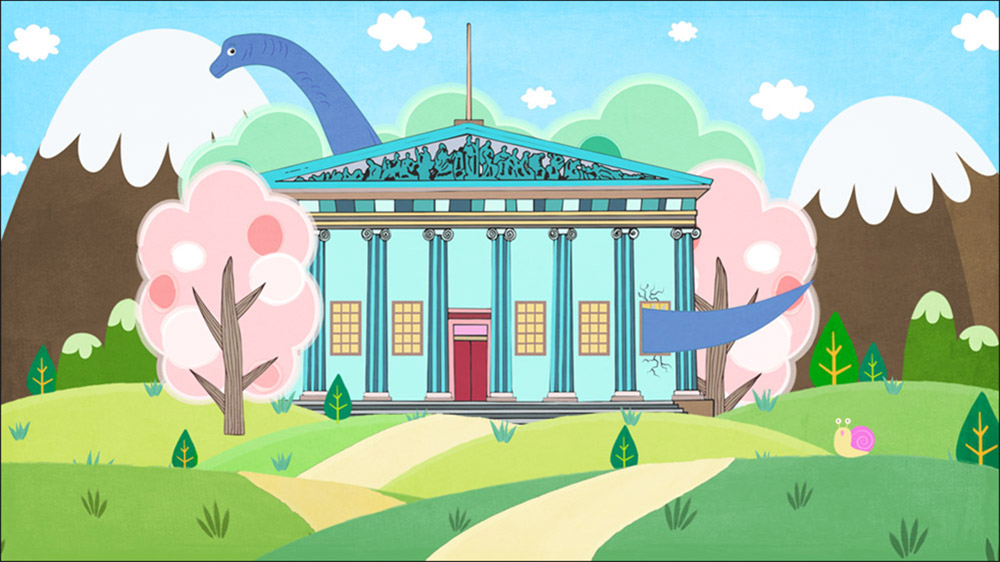 Carnegie Museum Illustration