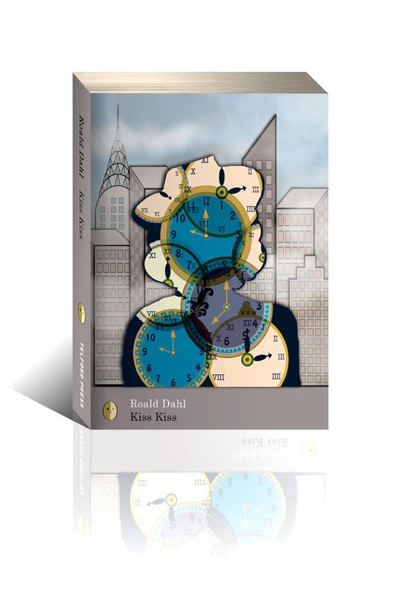 Roald Dahl Kiss Kiss Book Cover