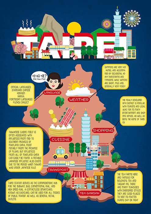 taipei map information